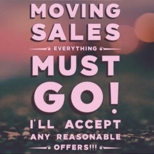 Moving this May! Everything must go!!